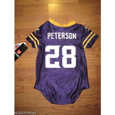 adrian peterson infant jersey
