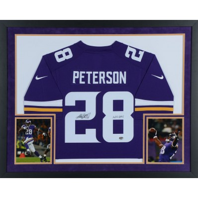 adrian peterson signed jersey authentic