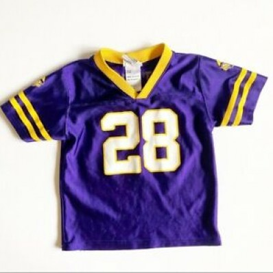 adrian peterson toddler jersey