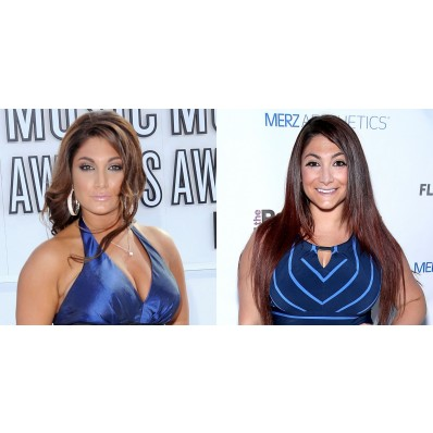deena from jersey shore then and now